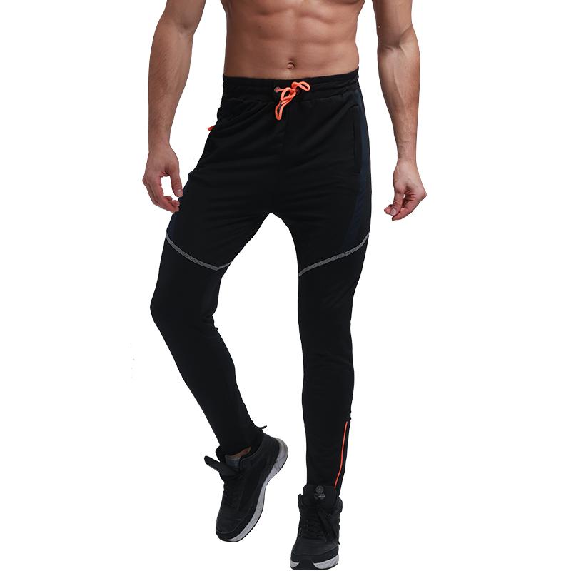 Мужские Пот штаны тренировка зал Тренировка Бег Повседневный Длинные брюки MECH-ENG Чёрный цвет Номер М фото