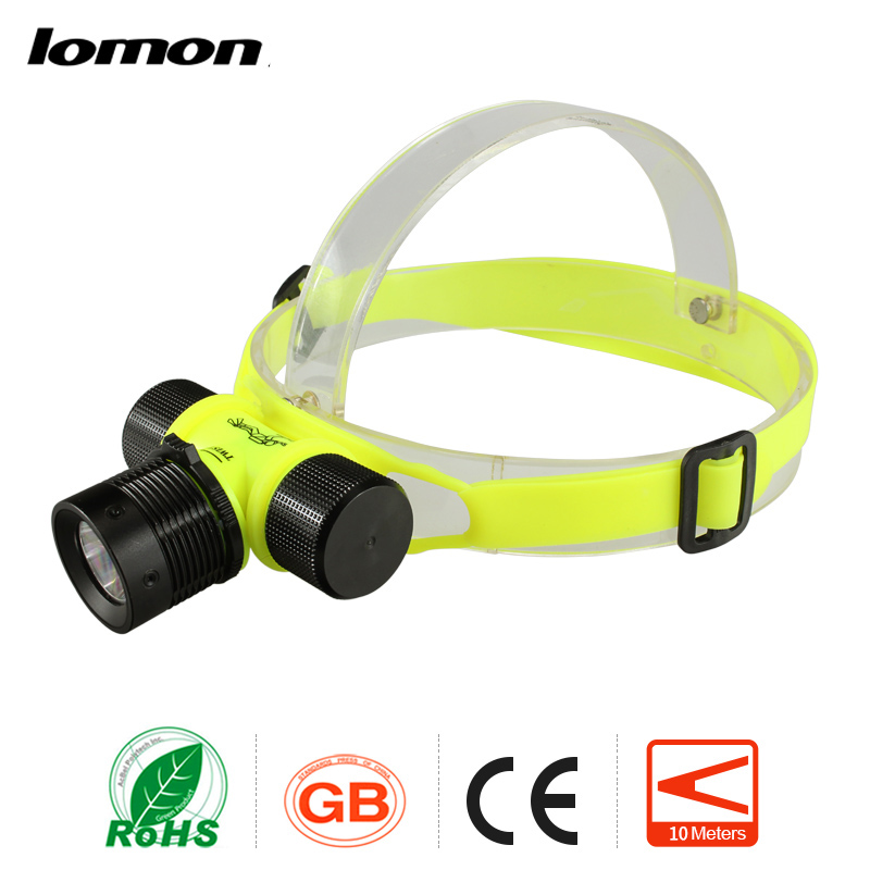 lomon золотистый yimistar w003 bike bicycle light 8000lm 3x xml l2 led scuba diving underwater 100m flashlight torch waterproof