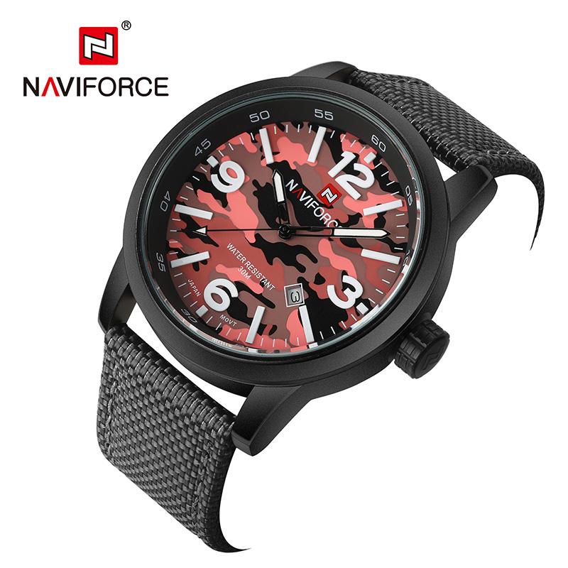 NAVIFORCE Red naviforce relogio 9028w