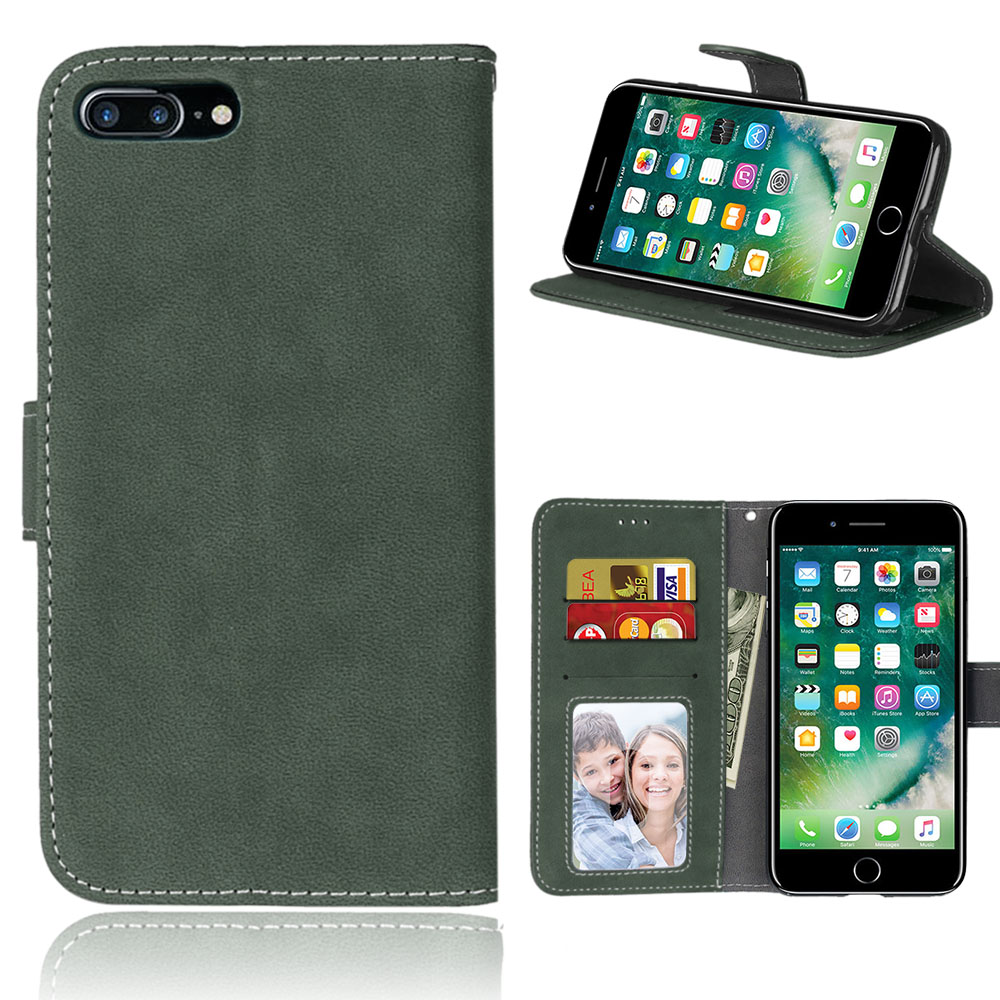 CXLYKZ зеленый iPhone7 Plus 8Plus 55inch бункеры benks iphone8 plus 7 plus чехол для мобильного телефона apple 8 plus 7 plus защитный чехол тонкий матовый чехол полный чехол да черный