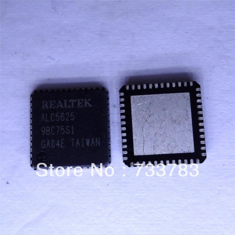 IC 5pcs lot realtek alc5627 i2s pcm stereo dac multiple analog inputs headphone and mono class d speaker amplifier