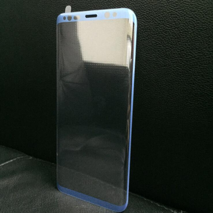 luoxunchuang Синий цвет Samsung Galaxy S8 plus аксессуар защитное стекло samsung galaxy s8 plus onext 3d gold 41266