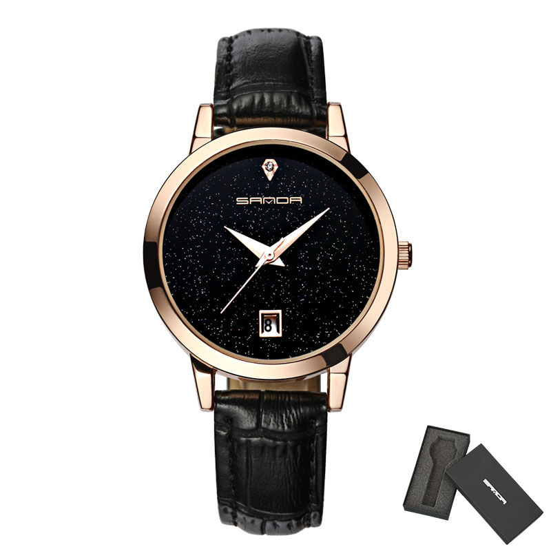 SANDN черный часы наручные женские mikhail moskvin каприз цвет черный 600 11 4