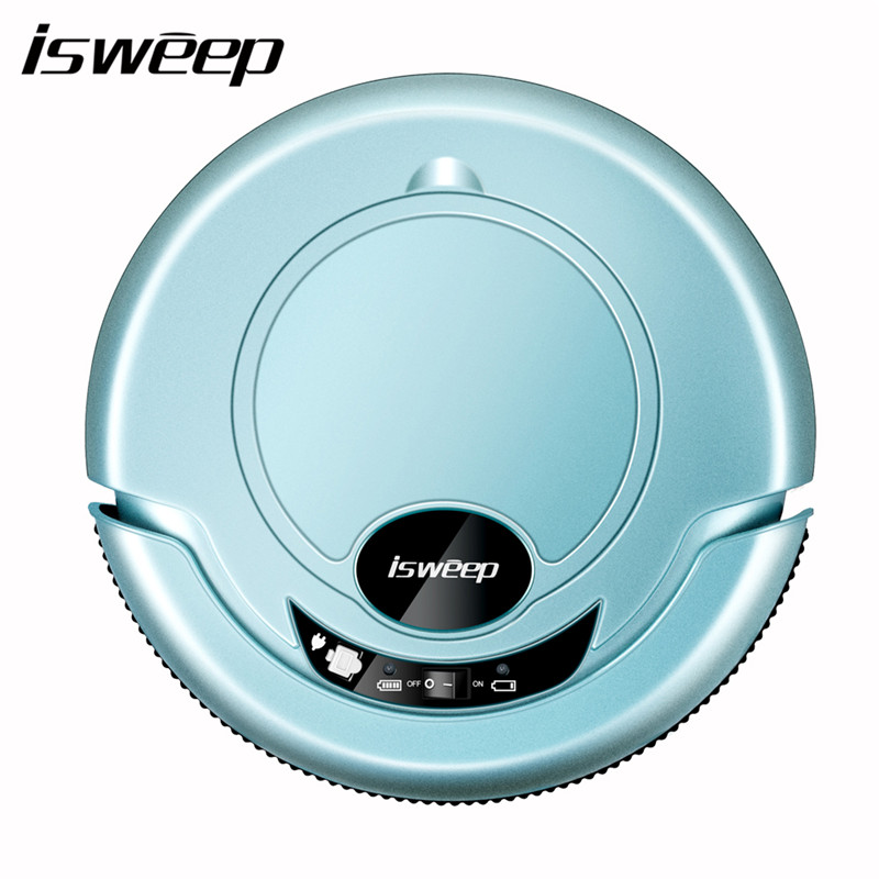 j iaweishi синий Евровилка isweep a1 robot vacuum cleaner for home automatic sweeping dust sterilize smart