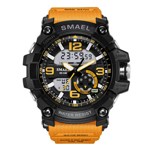 smael Orange chenxi brand luxury men watches automatic date stainless steel quartz watch business calendar male wristwatches reloj hombre