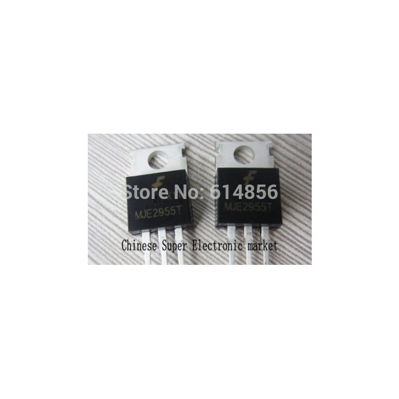 IC 20pcs mje2955t mje2955 trans pnp 60v 10a to220ab to220 original authentic and new free shipping ic