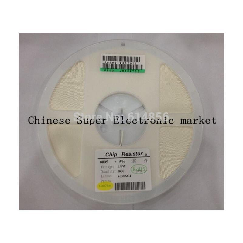 IC 5000pcs 0805 56r 56 ohm 5% smd resistor