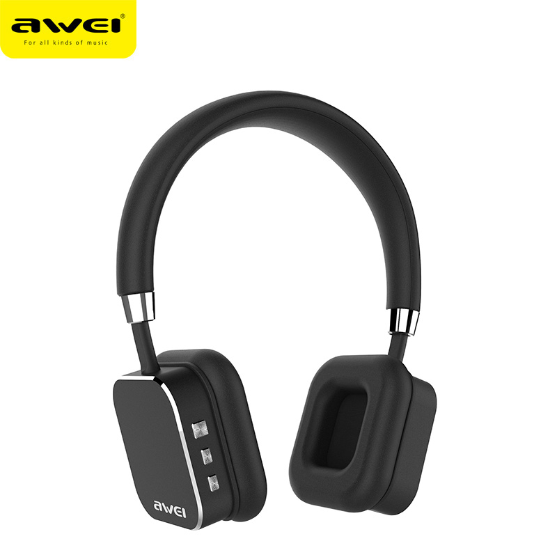 AWEI черный беспроводные наушники monster isport freedom wireless bluetooth on ear green