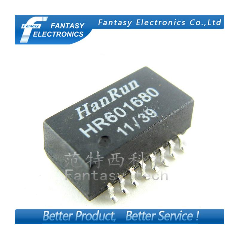 IC 10pcs free shipping 100% new original new hr601680 network transformer