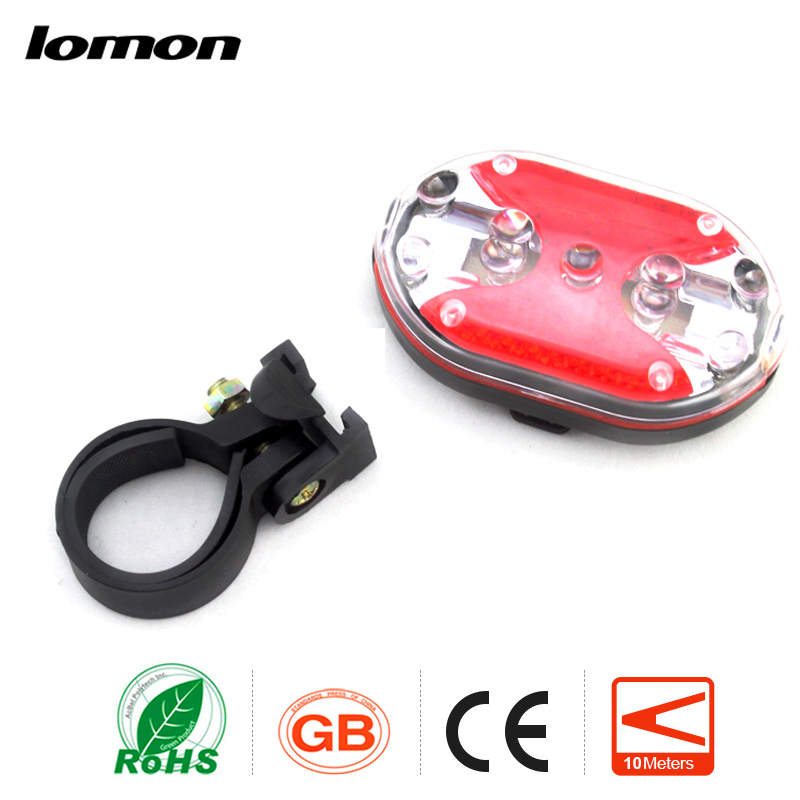 lomon Черный 2 mode bicycle bike bell ringer vibration automatic ring the bell 90 100db