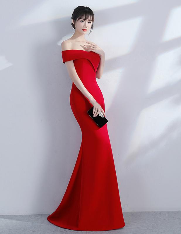 Банкетное вечернее платье Kalinnu красный L фото