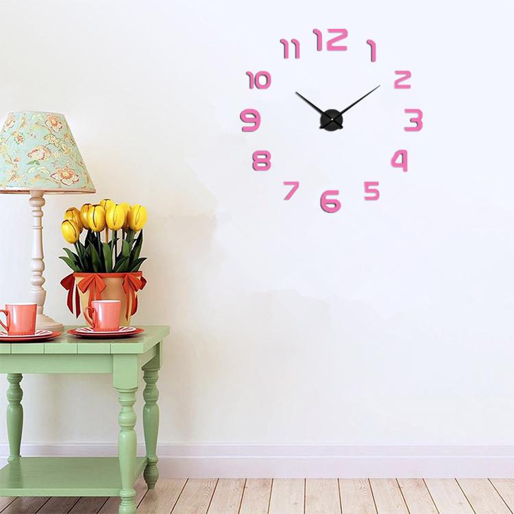 suwumu Розовый часы настенные magic home часы настенные петух