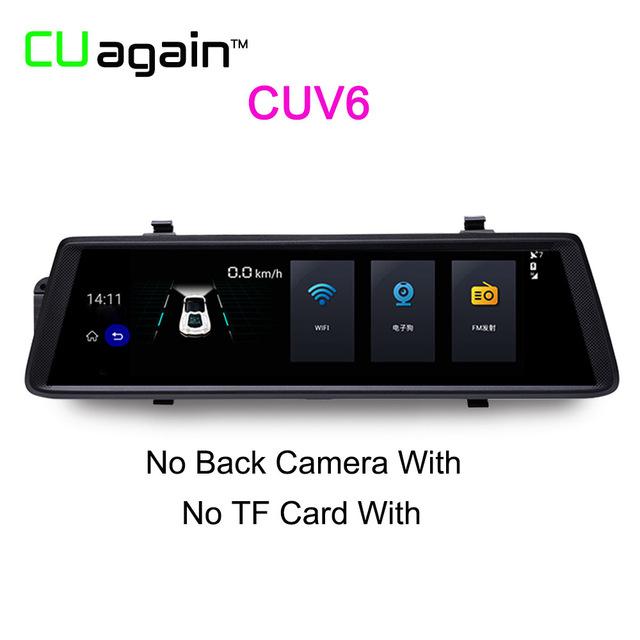 Автомобильный видеорегистратор CUV6 NO Объектив заднего вида 1080p