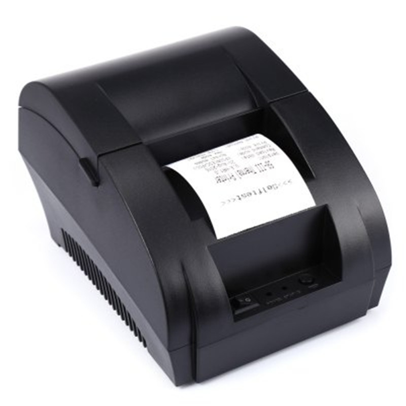 GBTIGER high quality pos 8220 usb 80mm thermal receipt printer zj usb pos receipt printer auto cut ticket printer