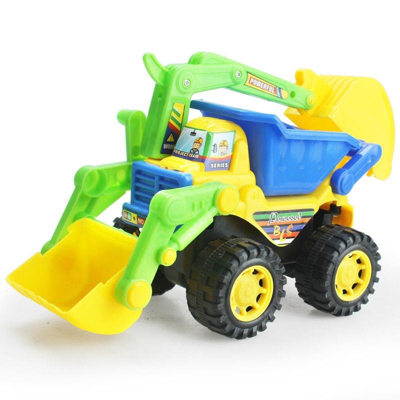 JD Коллекция Инерционное инженерное транспортное средство По умолчанию babamama инженер игрушка игрушка бульдозер сплав автомобиль модель дети мальчик девочка ребенок инерция автомобиль игрушка 6 pack b5018