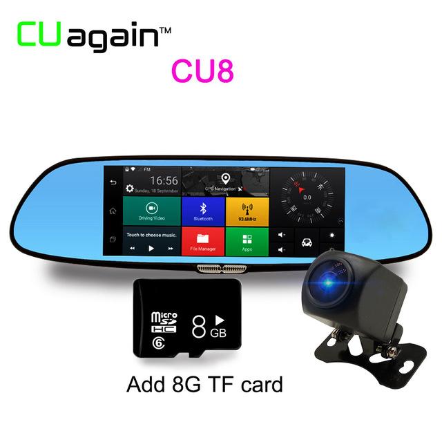 Автомобильный видеорегистратор CU08 8G 1080p