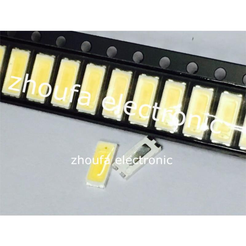 IC 1w 7000k 70lm white led streetlight emitter metal plate with optical lens 3 5v
