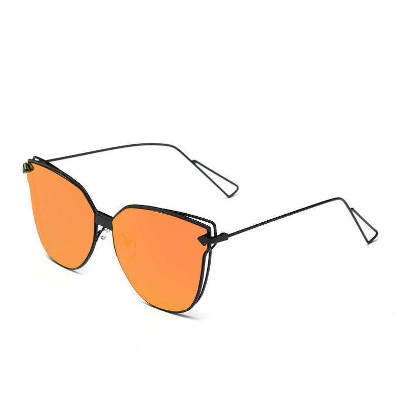 LIKEU S NO6 Black &amp Один размер Металлические солнцезащитные очки