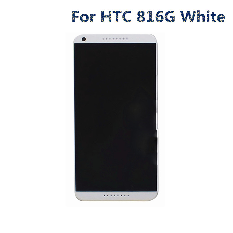 jskei Для HTC 816G LCD White 7 inch tablet screen for dp070211 f1 touch screen digitizer sensor glass touch panel replacement parts high quality black