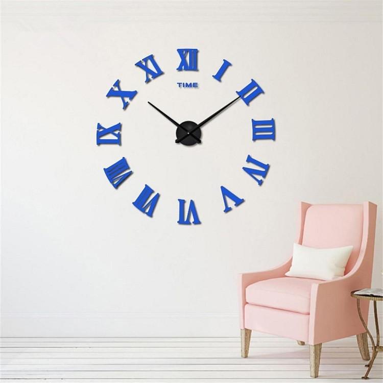 suwumu Синий цвет часы настенные magic home часы настенные петух