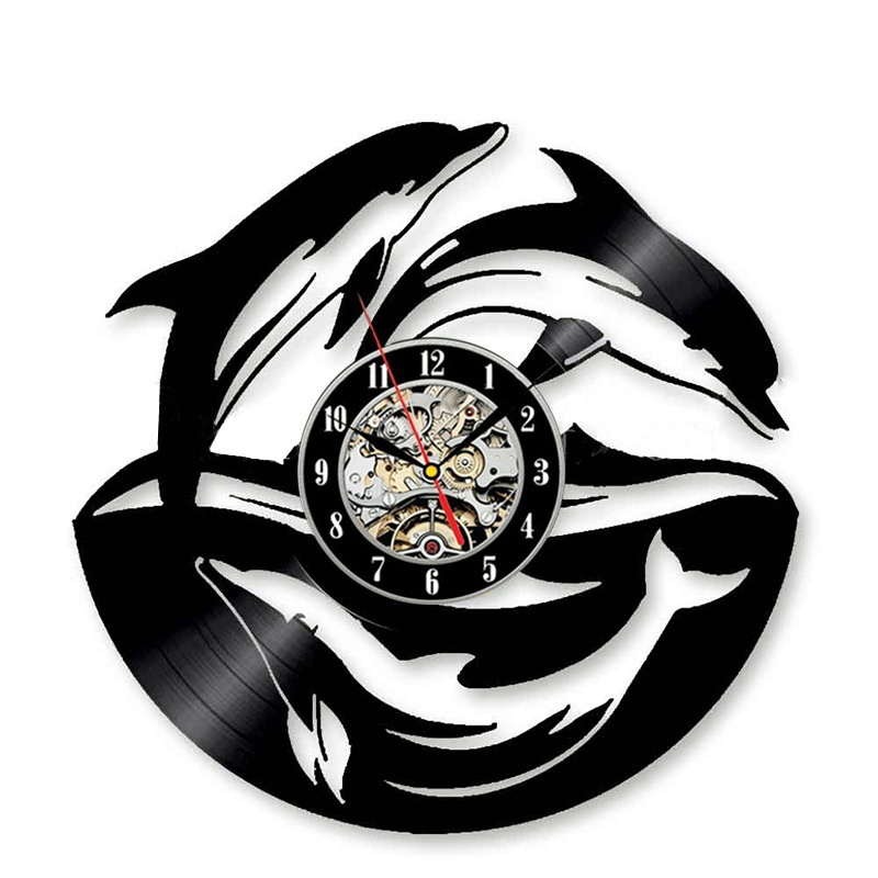 BOGAO черный часы настенные proffi home корица