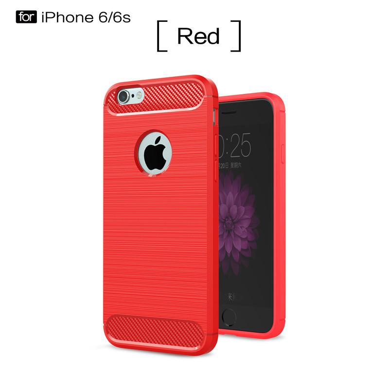 KYKEO Красный iPhone 6 gumai silky case for iphone 6 6s black