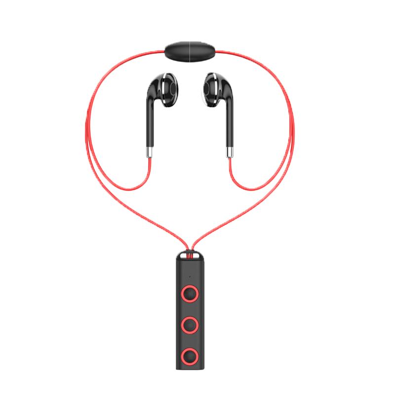 JYSS Red Модернизированная версия беспроводная связь bluetooth стерео гарнитура спортивные наушники наушники для smartphone