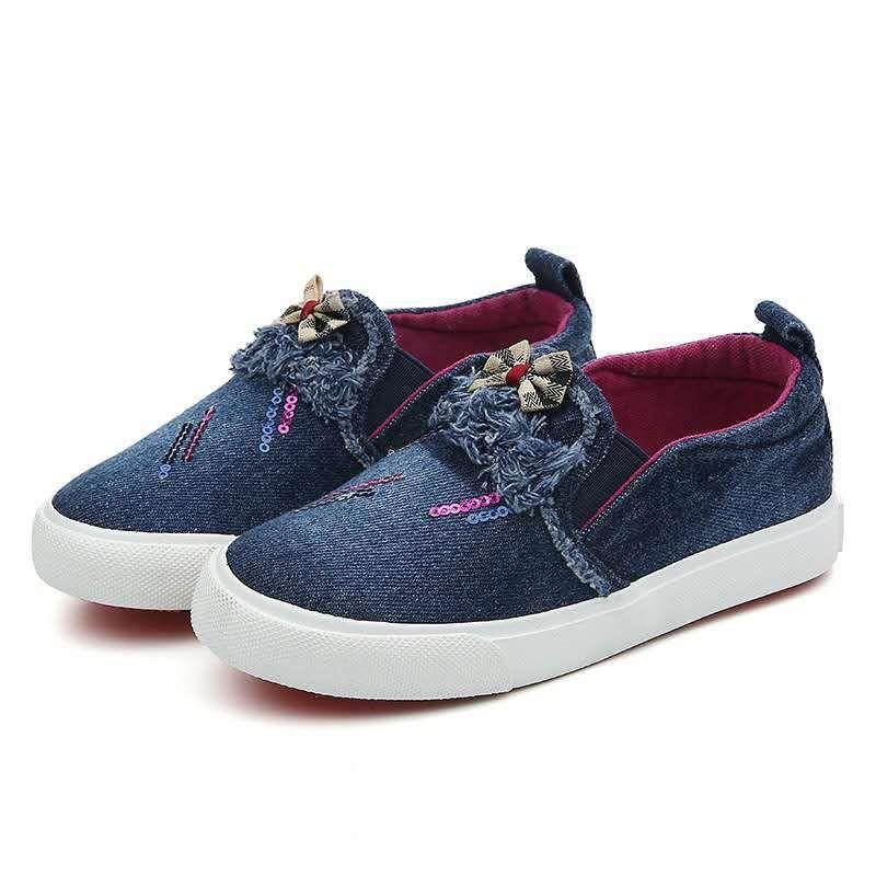 Обувь для девочек TOSJC Темно-синий 3 фото