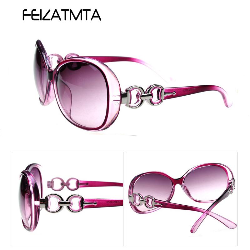 FEIZATMTA пурпурный 2016 women metal frame sexy cat eye sunglasses coating vintage sun glasses female oculos de grau femininos uv400