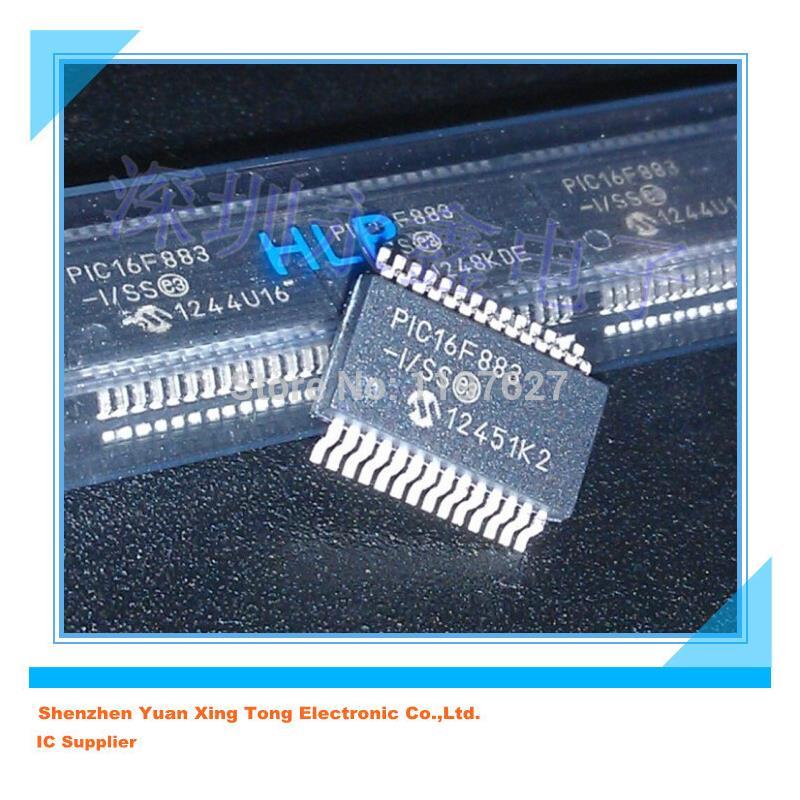 IC 10pcs lots pic16f883 i ss pic16f883 ssop 28 100%new original ic in stock in stock