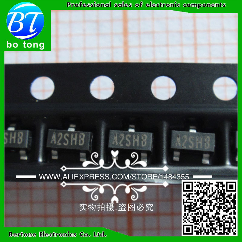 IC 100pcs lot free shipping n channel mosfet si2302 a2shb 2 5a 20v sot23 mos tube si2302ds high quality