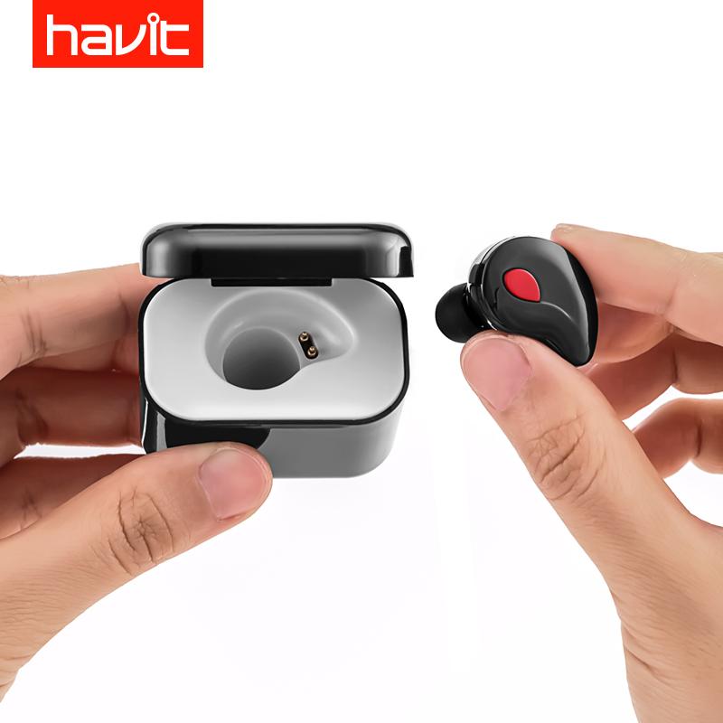 JD Коллекция Глубокий черный дефолт u8 wireless bluetooth 4 1 sport in ear earbuds black