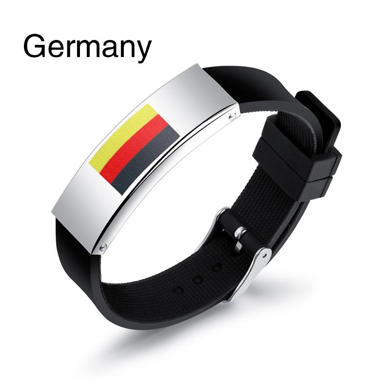 Colorful panda Германия u7 широкий браслет часов реального позолоченные моды мужчин украшения оптовой новой модной уникальный 1 5 см 20 см звено цепи браслеты