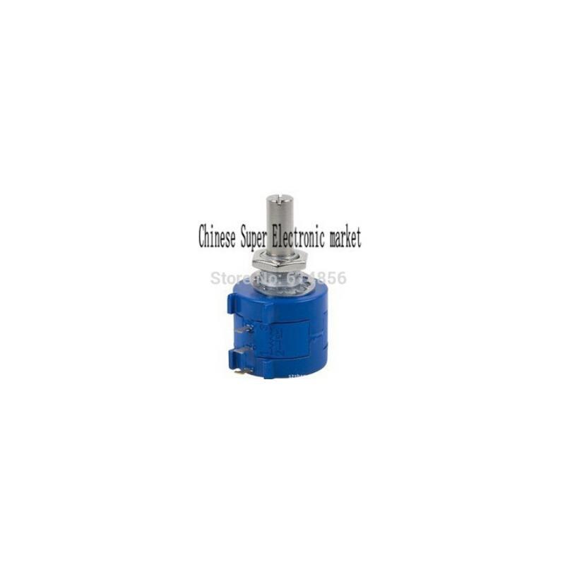 IC 2 sets 1k 2k 5k 10k ohm linear taper rotary potentiometer pot shaft 6mm x 13mm hole 7mm