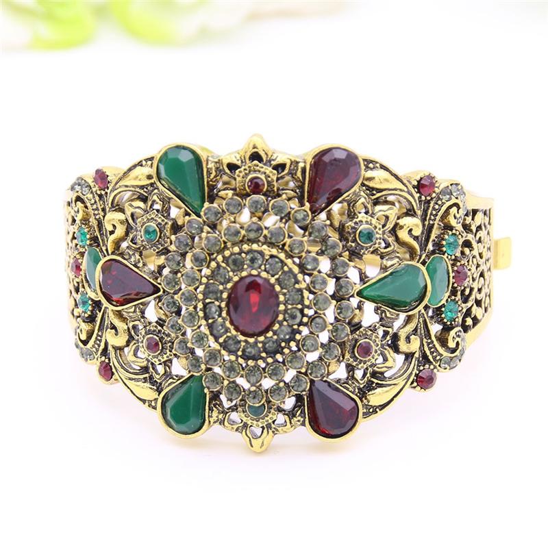 SUNSPICE MS Red браслет браслеты браслеты браслеты турецкие симметричные ювелирные изделия цветочного искусства
