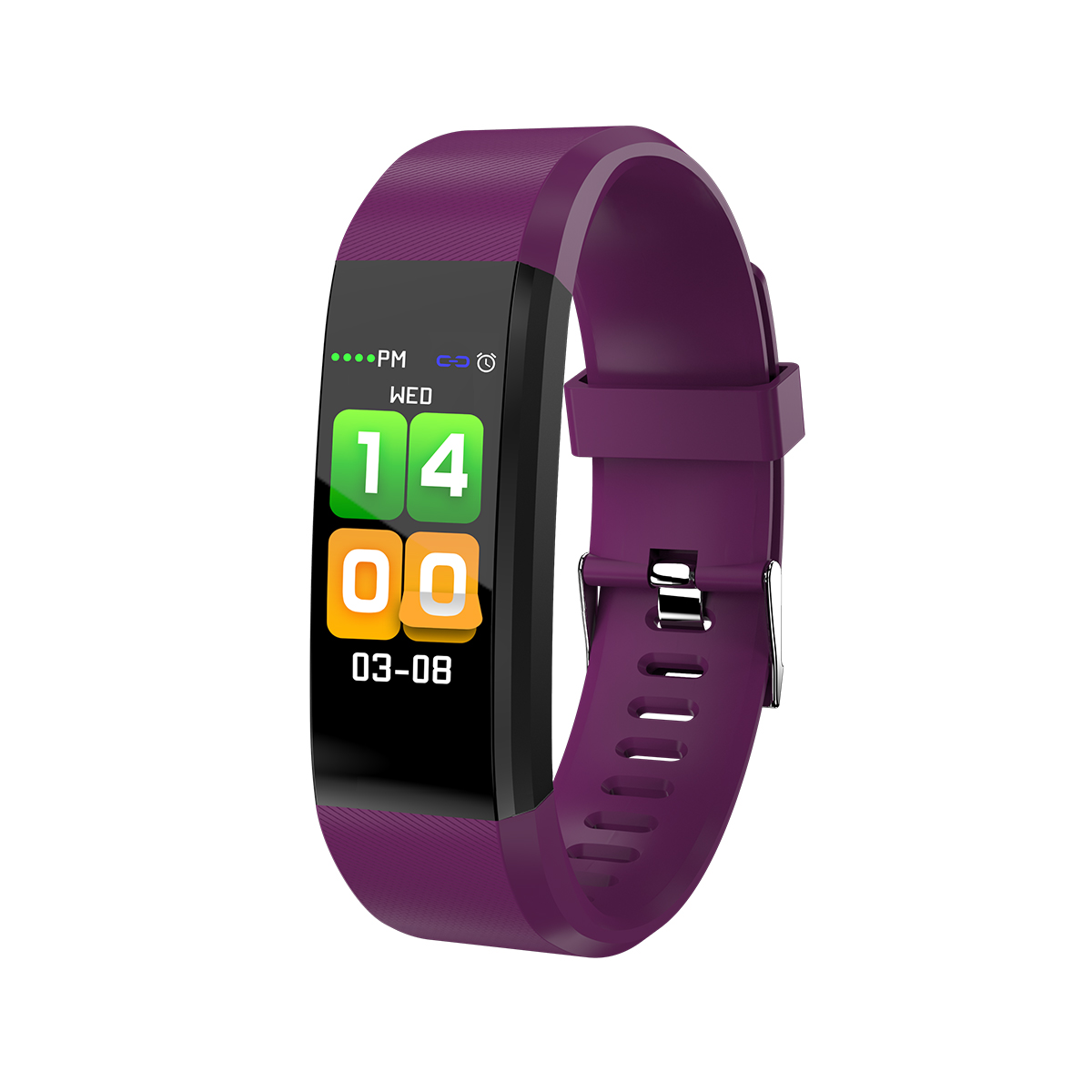 все цены на chkj Фиолетовый шарм Смарт-браслет онлайн
