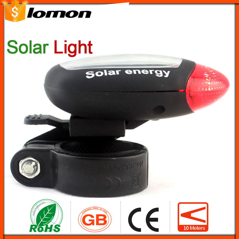 lomon Черный 5 led 3 mode red light bicycle tail light 2 x aaa
