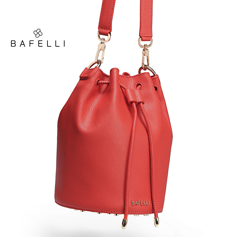 BAFELLI Красный цвет luxury leather handbags women bags designer famou brand crossbody for 2018 vintage tote shoulder bolsa feminina sac a main mujer