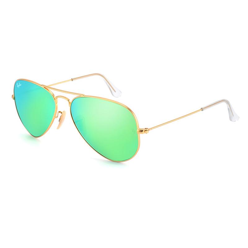 Rayban Солнцезащитные очки BangLong Серебряная рамка фото