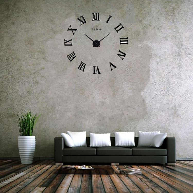 suwumu Чёрный цвет настенные часы sinix 501 p