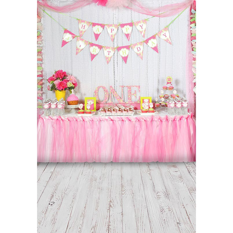 JOYOCHFOTO многокрасочный 57FT pink birthday photo background 5 7ft vinyl fabric cloth цифровая печать photo studio backdrop s 3140