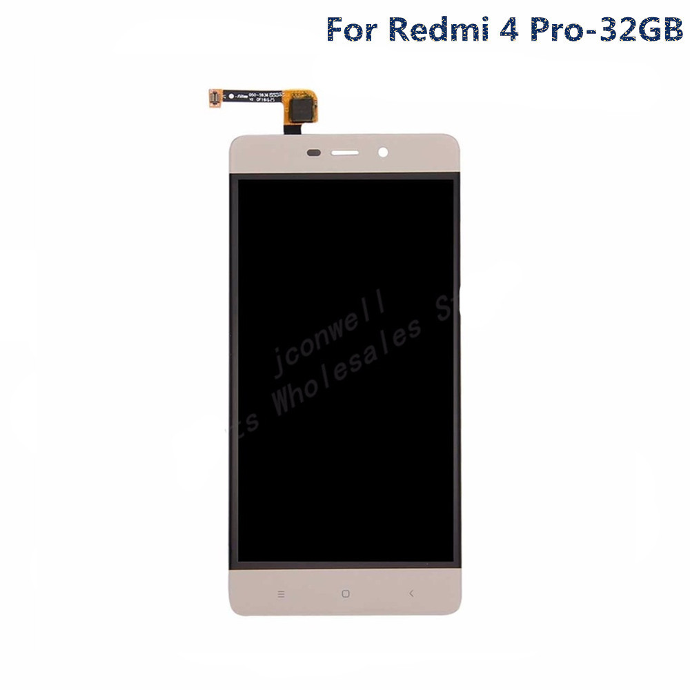 jskei Для Redmi 4 Pro LCD Gold replacement 4 0 for asus lcd display panel touch screen digitizer glass sensor assembly for zenfone 4 a400cg tools