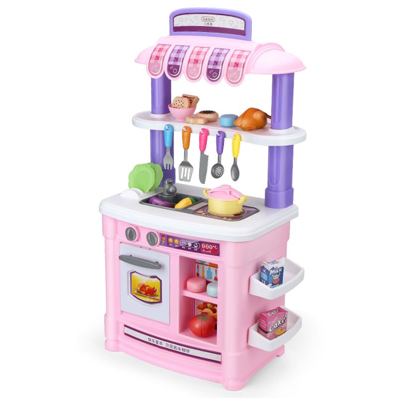 JD Коллекция Счастливая кухня Розовый По умолчанию childrens play ocean ball pool toy house