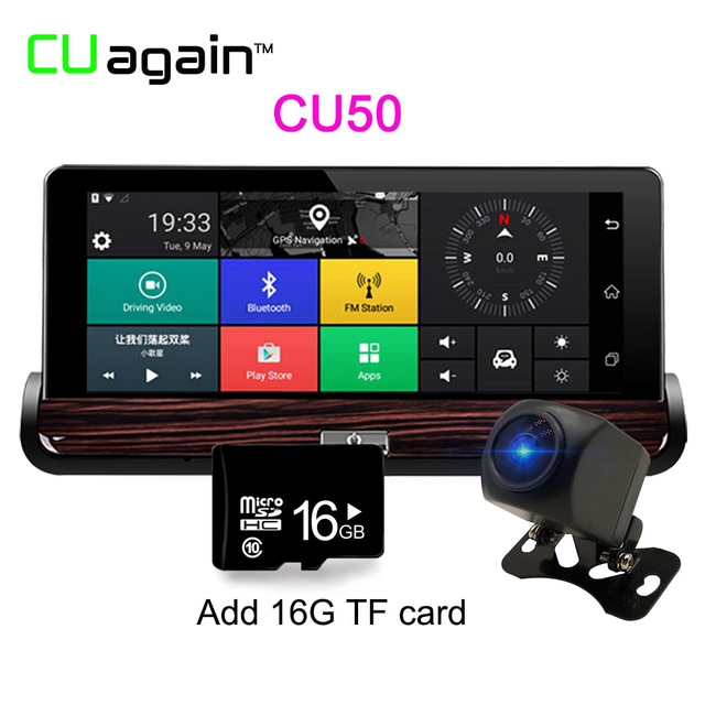 Карта памяти CU50 16G 1080p mini 0906 car dual lens dvr 1080p fhd dash cam