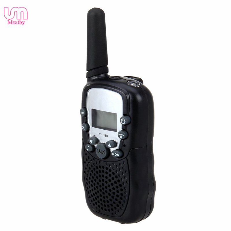Mzxtby черный 2FRS 2EA 2pcs mini walkie talkie uhf interphone transceiver for kids use two way portable radio handled intercom free shipping
