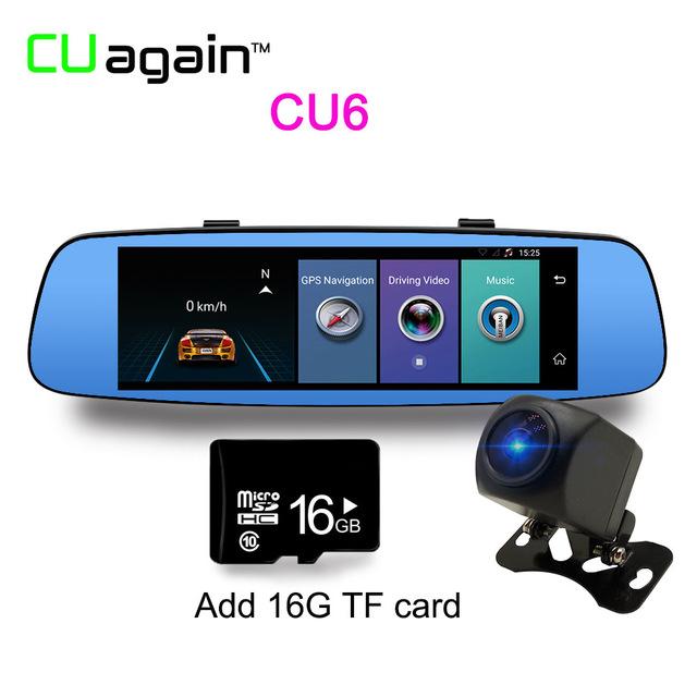 CU6 Автомобильный видеорегистратор 16G Карта памяти 1080p автомобильный видеорегистратор cu900 16g 1080p