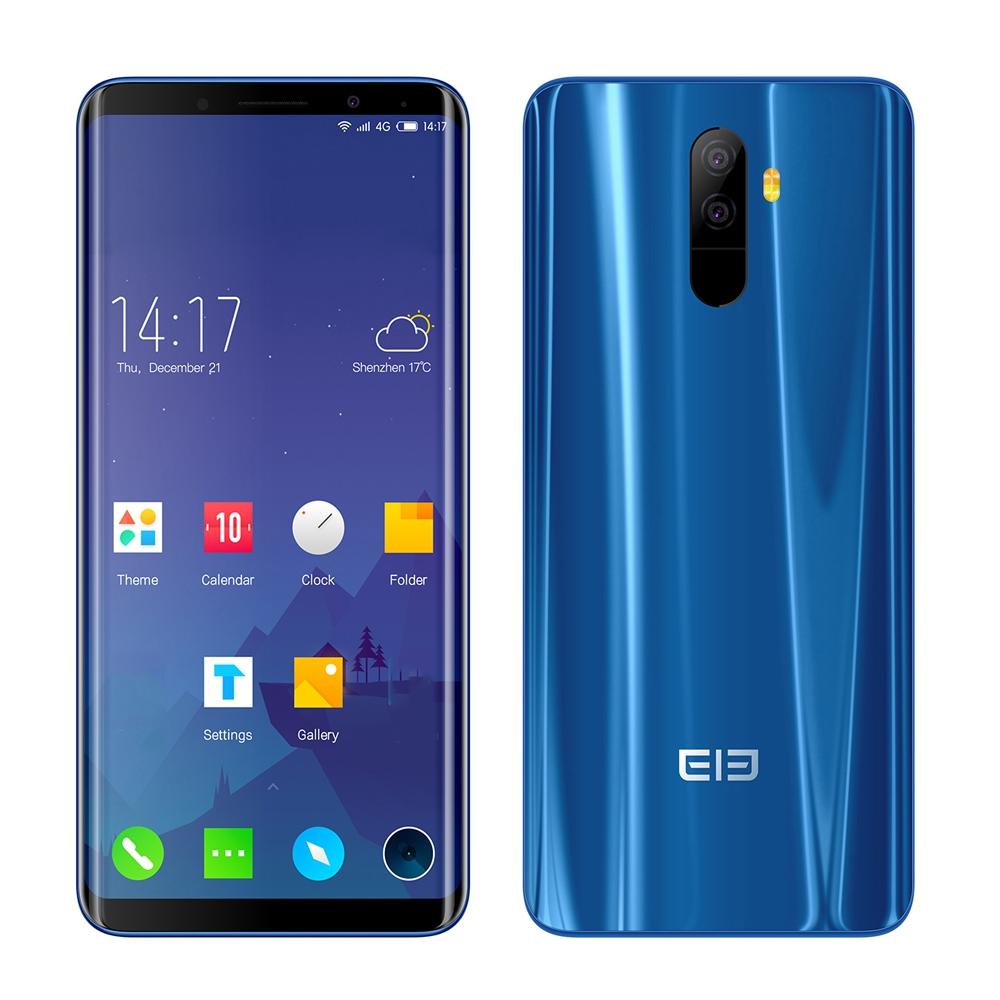 Elephone Синий цвет смартфон elephone s7 4g