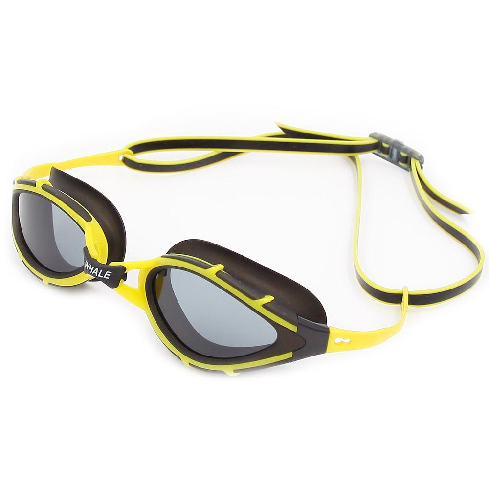 BENICE желтый очки плавательные larsen s45p серебро тре