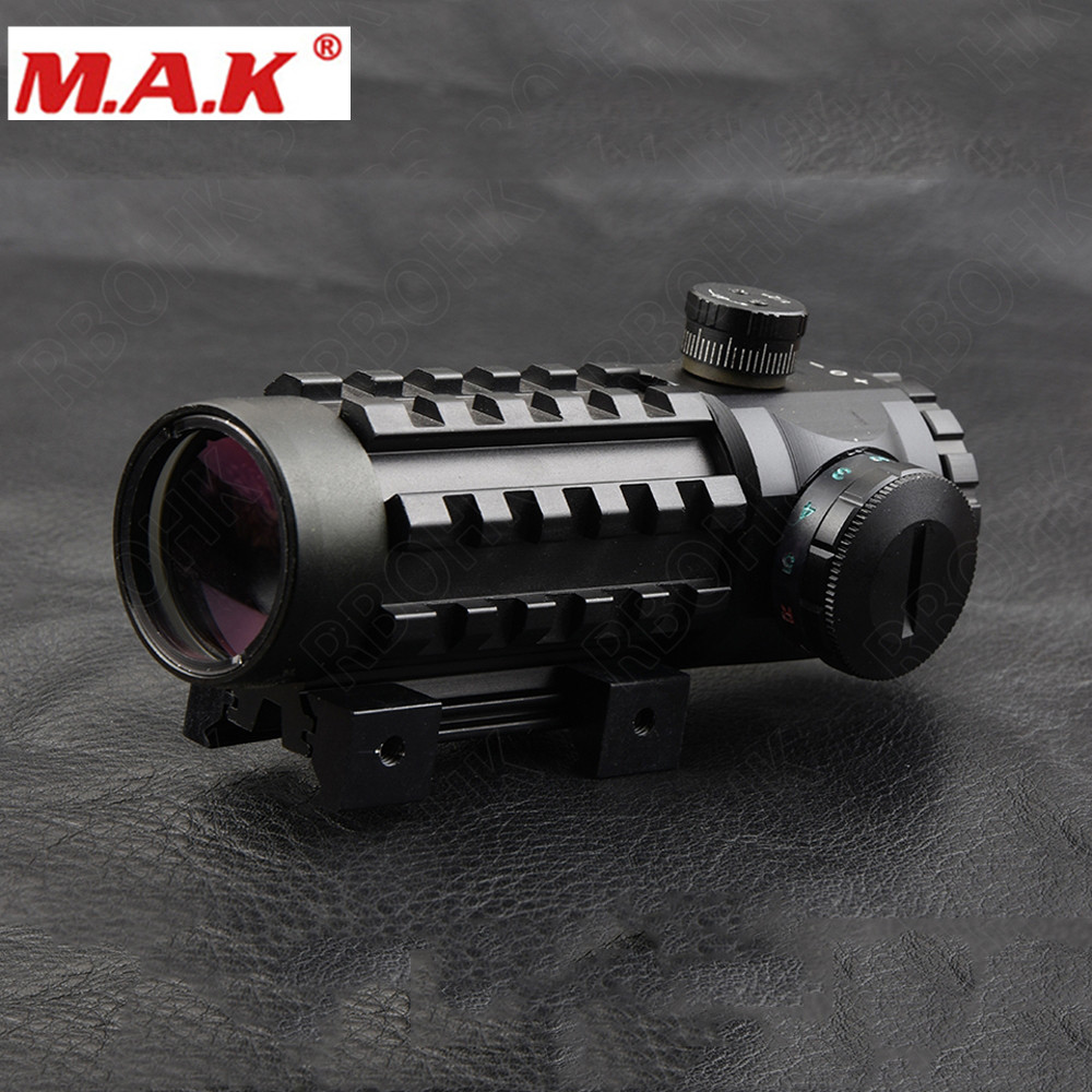 MAK sniper tactical wkp 1 5 6x44sal riflescope glass etched reticle hunting optics sight with rg illuminated with bubble level scope
