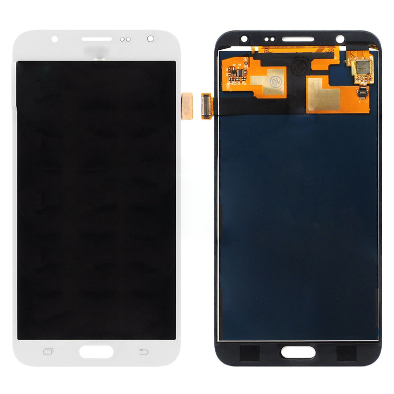jskei Белый lcd display for samsung galaxy s5 g900 g900f high copy can adjust britness touch screen digitizer assembly replacement parts